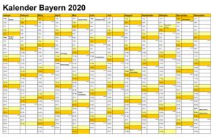 Feiertagen 2020 Bayern