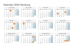 Wann Sind Die Sommerferien Hamburg 2020?