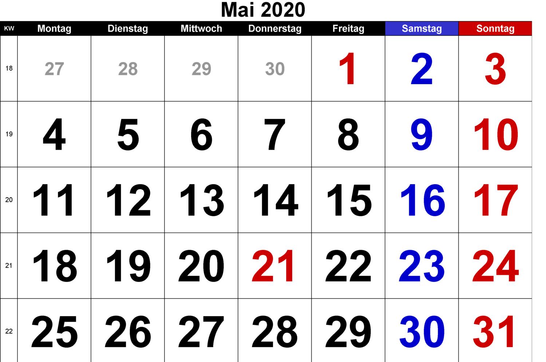 Mai 2020 Für Studenten