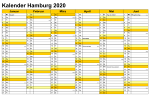 Sommerferien 2020 Hamburg PDF