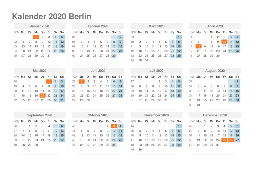 pfingstferien berlin 2020