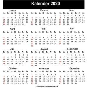 Sommerferien 2020 Thuringia PDF