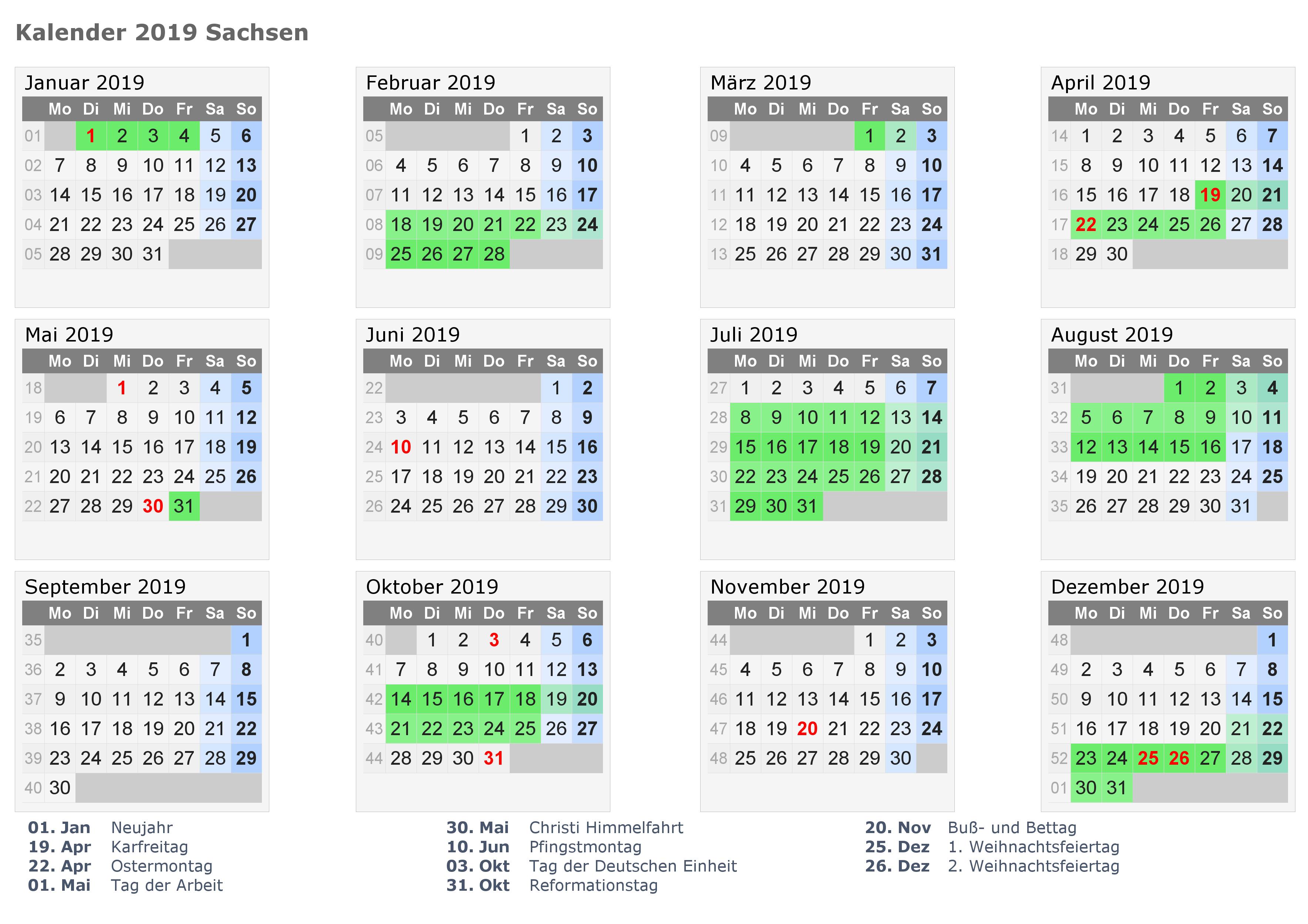 Wann Sind Die Sommerferien Sachsen 2020?