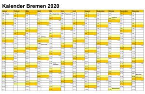 Wann Sind Die Sommerferien Bremen 2020?