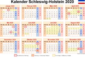Feiertagen 2020 Schleswig-Holstein