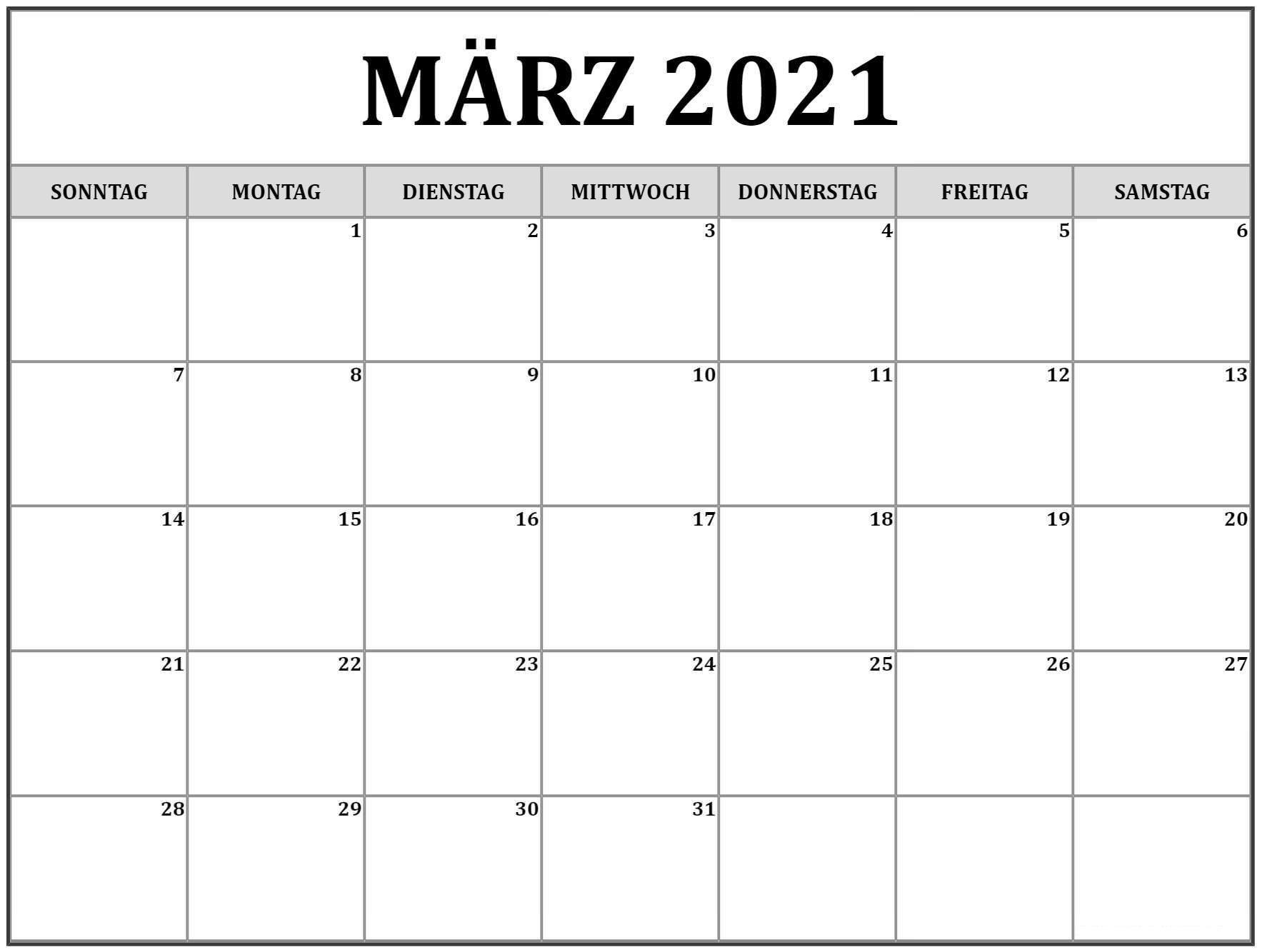 Uhrumstellung März 2021