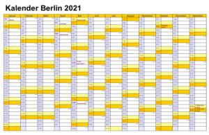 Feiertagen 2021 Berlin Kalender