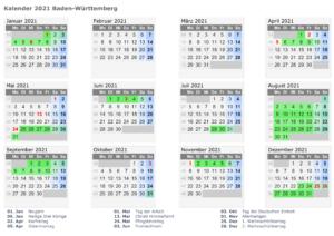 Wann Sind Die Sommerferien Baden-Württemberg 2021?