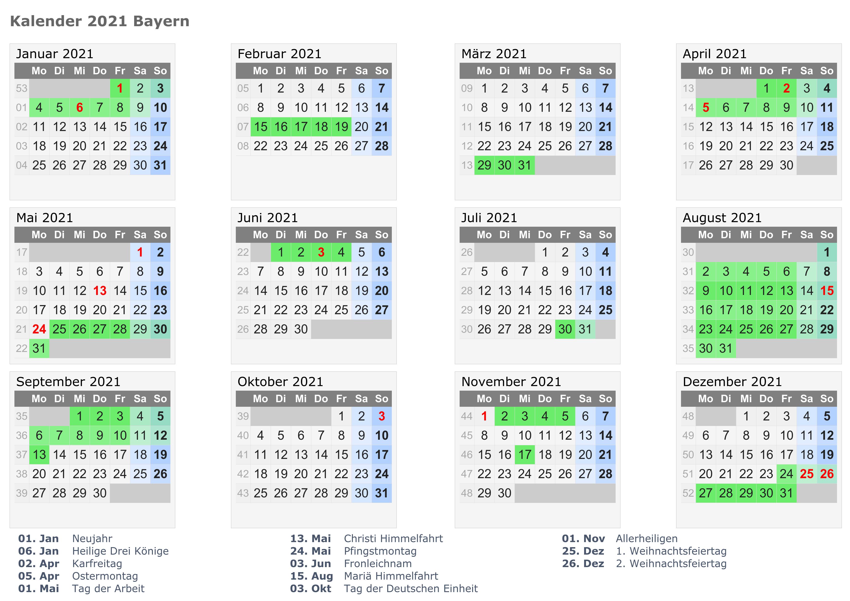 Wann Sind Die Sommerferien Bavaria 2021