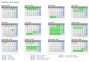 Wann Sind Die Sommerferien Berlin 2021