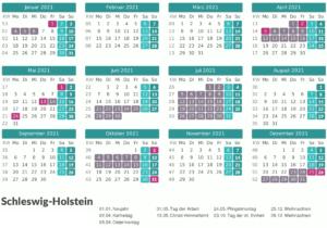 Wann Sind Die Sommerferien Schleswig-Holstein 2021?