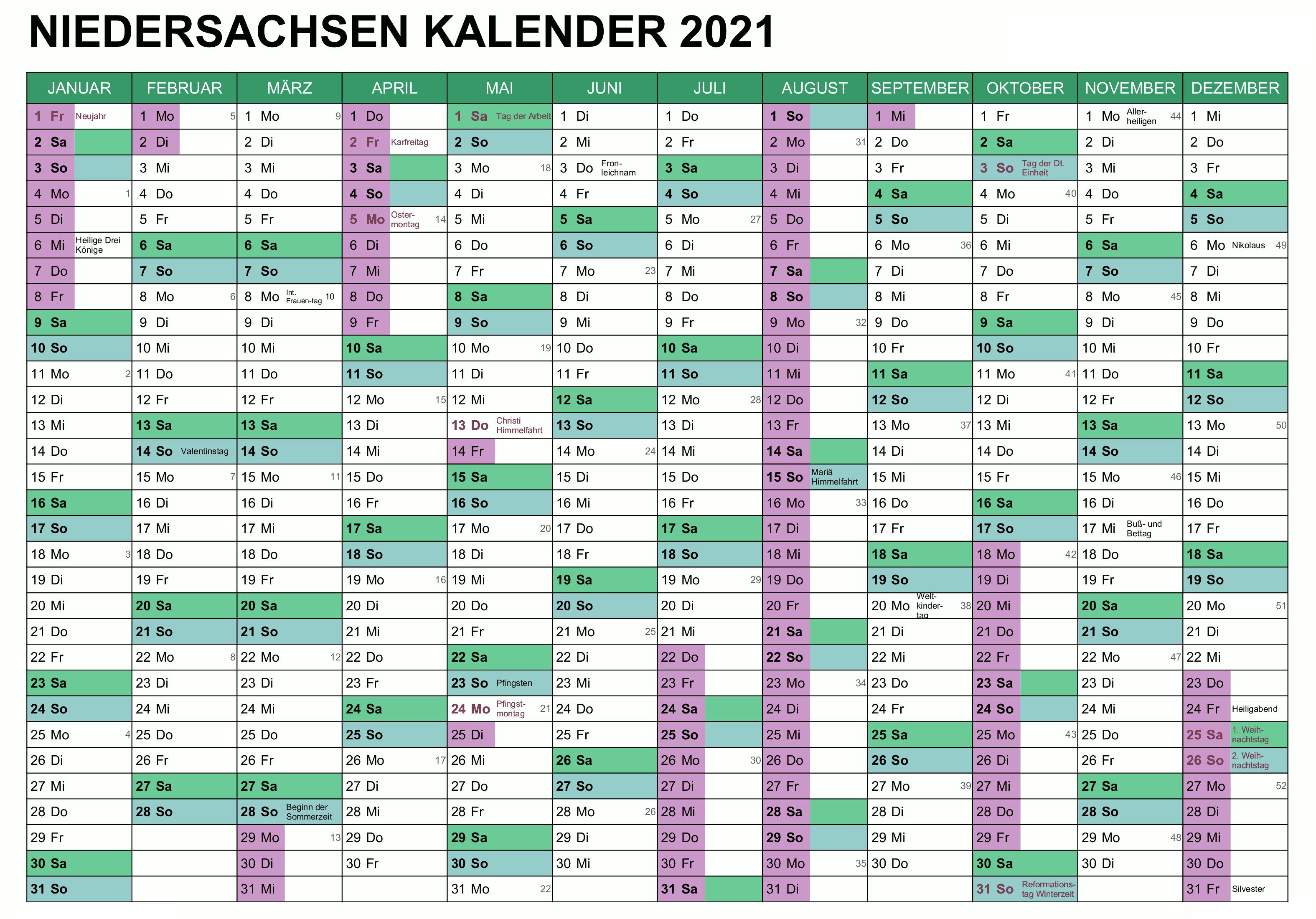 Wann Sind Die Sommerferien Niedersachsen 2021?