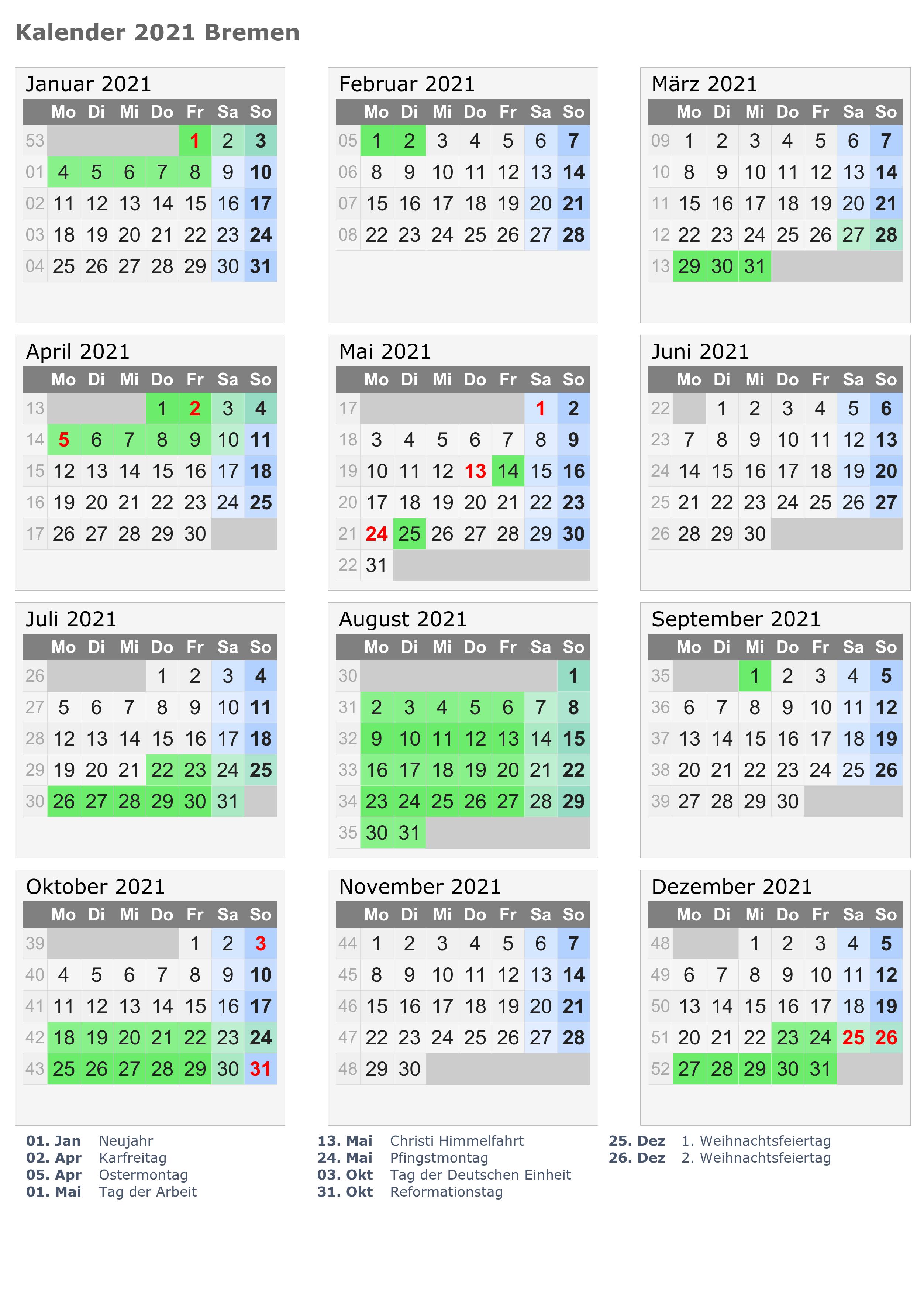 Wann Sind Die Sommerferien Bremen 2021?