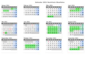 Wann Sind Die Sommerferien NRW 2021?