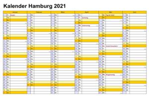 Wann Sind Die Sommerferien Hamburg 2021?